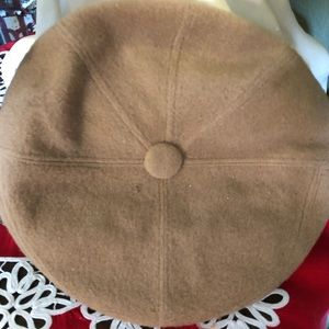 Men's Vintage Beige Page Boy Hat 🧢 Size 6 3/4 $25